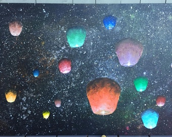 Chinese Lanterns in Space