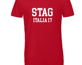 Personalised Stag T'shirt for Stag Do Stag Party