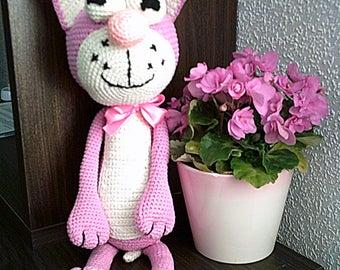 Crochet toys amigrumi ,crochet animal .croshet cat