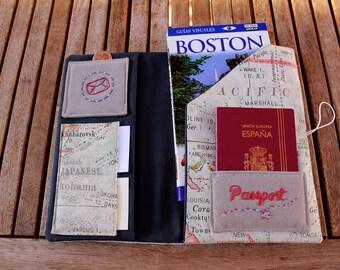 "Document Holder Travel ""Maps""-Travel wallet"