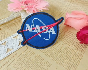 NASA patch,space patch,iron on patch,embroidered patch,patch for jacket ,applique
