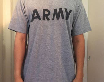 Medium ARMY Logo T-Shirt