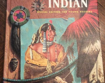 Vintage Book 1960 The American Indian By Oliver LA Farge