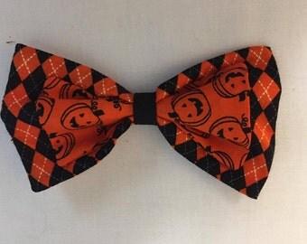 Halloween pumpkin bow