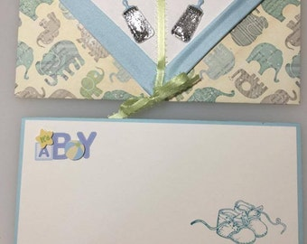 It's a boy gift card with matching envelope