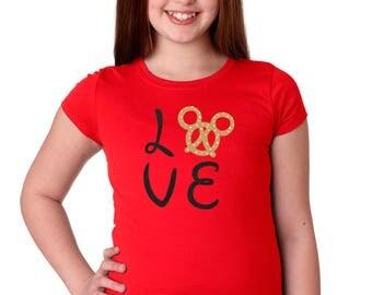Mickey Pretzel Shirt - Disney Food Shirt - Disney Snack - Disney Girls Shirt - Disney Kids Shirt - Disney Shirt