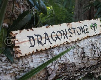 Dragonstone Game of Thrones Sign, Reclaimed Timber, Handmade, Hand Painted, Rustic, Gift Ideas, Man Cave