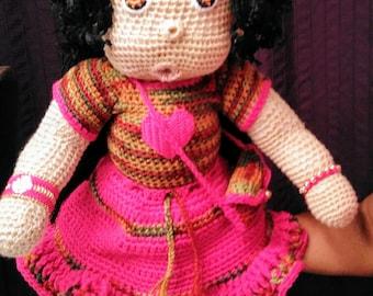 "Custom 'Kiwi Doll"""