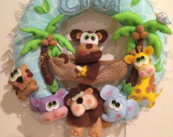 Personalized Baby Wreaths - Various themes