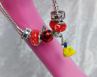First True Love Charm Bead Bracelet