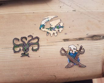 Sea of Thieves inspired pins