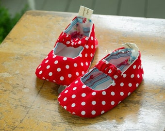 68 Isabella Baby Mary Jane Shoes PDF Sewing Pattern