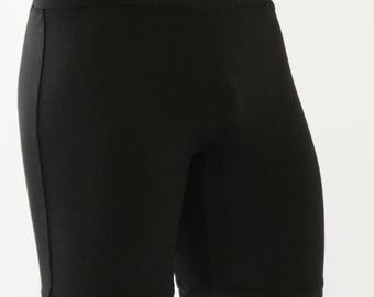 Long Compression Shorts, Compression Shorts, shorts, black shorts, black compression shorts