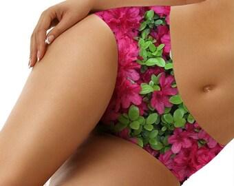 Pink Flower Girl Underwear