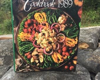 Vintage Cooking Light 1989 Cookbook