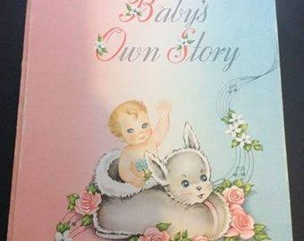 Vintage 1947 USED baby Book