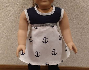 """18"""" Doll Dress/ Pants Outfit"""