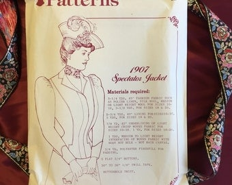 Vintage Early 1900s Jacket Pattern (Uncut)