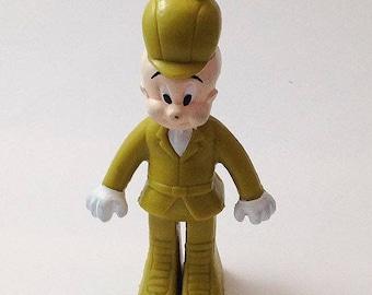 Vintage htf 1988 Arby's Elmer Fudd Looney Tunes PVC toy