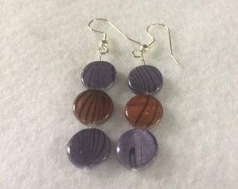 e24 - Colorful Shell Earrings