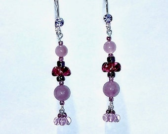 Cape Amethyst Earrings