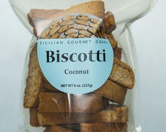 Coconut Biscotti