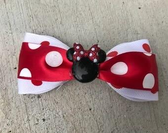 Disney dots bow