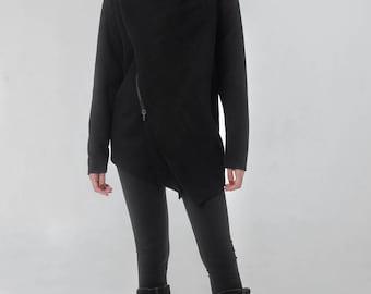Black Coat Women Winter, Hooded Coat, Winter Jacket, Trench Coat, Long Coat, Bohemian Coat, Black Coat, womens outfits, Hippie Coat