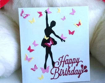 Happy Birthday Greeting Card / Debut Card for love ones
