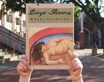 Vintage Diego Rivera Art Book