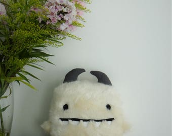 Dimmie - One of a kind stuffed monster