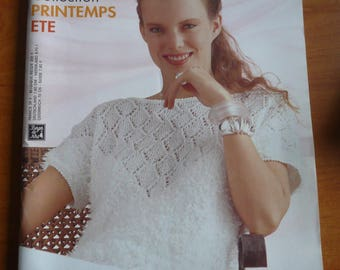 NORTHERN BERGER Catalog, explanations and women's models in knitting, spring-summer n. 63 knitted sweaters - sweaters, vests