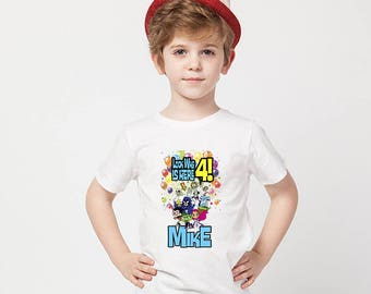 Teen Titan's Go! Birthday Shirt,Teen Titan's Go Custom Shirt, Personalized Teen Titan's Go Shirt, Titans's family shirts, Birthday t-shirts