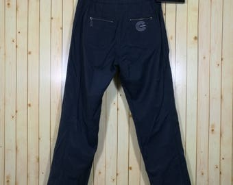 Vintage 80s Chanel Boutique Pants Blue Navy Colour Size M