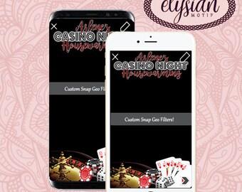 Casino/Vegas Snapchat Geofilter