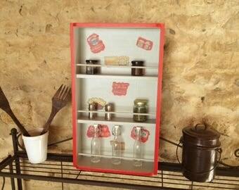 Inspired by Katie's Makeover kitchen shelf