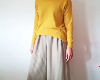 Palace trousers with elastic waist