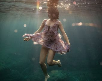 Underneath - Underwater Fine Art Photograph - Various Sizes - Unframed