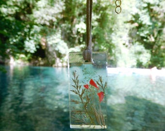 Pendant with summer nature