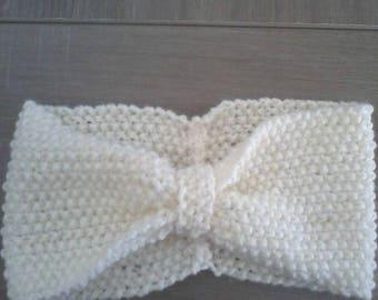 headband hand knitted headband