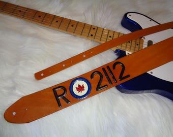 RCAF/Rush 2112 Guitar strap