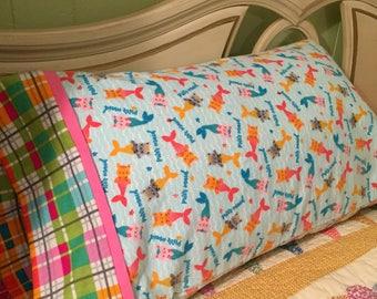 Purrmaid Pillowcase