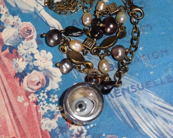 My precious (pendant eye and beads)