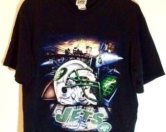 New York Jets 2000 NFL T-shirt