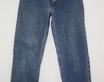 Vintage Ralph Lauren Blue High Waisted Jeans