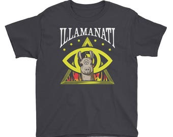 Illamanati Funny Kids Llama T-Shirt
