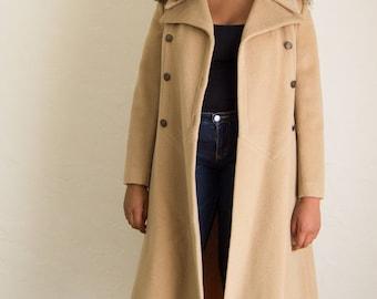 60's Bullock's Wilshire Tan Overcoat