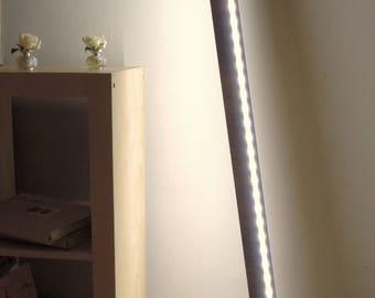 Designer lamps LED Slender wood macassar ebony