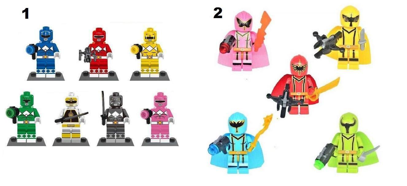 Power Rangers Minifigure Fits Lego Mighty Morphin Original