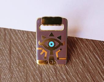 Sheikah Slate Hard Enamel Pin - Gold Plated Lapel Pin